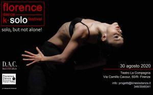 Florence Dance K Solo Festival - Florence Dance Festival 2020